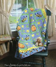 Bee My Honey Quilt Pattern Pieced/Applique HP