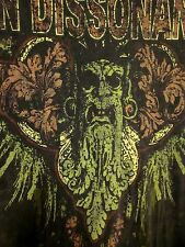 ION DISSONANCE mathcore XL faded tee Canadian deathcore T shirt Quebec metal