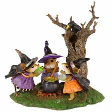 Wee Forest Folk Halloween Cooking Up Trouble M-185d