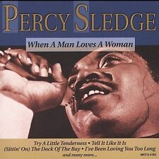 Percy Sledge : When a Man Loves a Woman CD (1997)