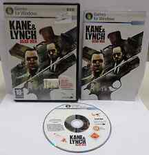 Gioco Game Computer PC DVD ITALIANO ITA KANE & LYNCH DEAD MEN EIDOS