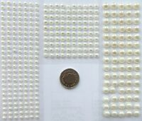Self Adhesive Pearl Gems for Card Making Scrapbook Embellishments Wedding Craft