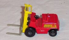 MATCHBOX SUPERFAST # 15 FORK LIFT TRUCK - NO BOX - 1972 - VERY GOOD CONDITION