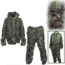 Camouflage battle dress Leaves clothing Combi Suit Paintball hunter brown TOP