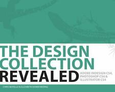 The Design Collection Revealed, Adobe Indesign CS4, CD included-Free Shipping