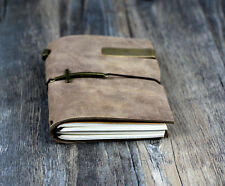 VINTAGE new arrival Traveler's Notebook Diary Leather Cowhide diary D0407
