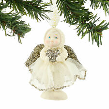Dept 56 Snowbabies Dream New 2016 SWEETHEART ANGEL Snowbaby Ornament 4051920