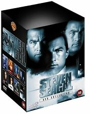 Steven Seagal Collection (DVD, 2002, 8-Disc Set, Box Set)