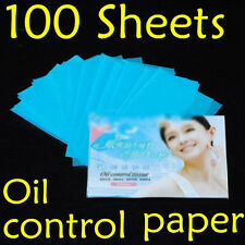 100 Sheets Facial Oil Control Absorption Blotting Facial Paper/TISSUE,Skin EF