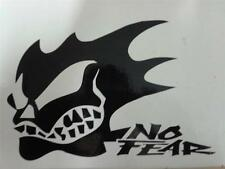2X NO FEAR SKULL(S) CAR/BIKE ADHESIVE STICKER DECAL GRAPHIC  220MM X 150MM