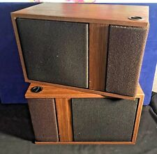 Vintage original pair BOSE 301 Series I Direct Reflecting SPEAKER Set WALNUT