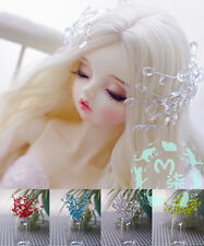 BJD Wig Accessories 5 Color(Blue,Yellow,Green,Red,White)Branches Branches Headge
