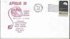 1969 Apollo 10, Lunar Orbit, Color TV Broadcast from the Moon 2
