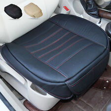 For VW Audi BMW Benz Black PU leather Car Interior Front Seat Cover Seat pad