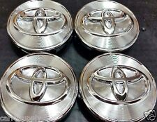 "4 pcs, Toyota, Wheel Center, Hub Cap, Chrome, 62 MM, 2.44"", Camry Corolla Avalon"