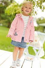 BNWT NEXT PINK GIRL JACKET SIZE 5-6 YEARS
