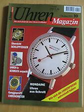 Uhren-Magazin Nr. 10 1995 - Mondaine, Sinn Chronographen, Nevril, Nick Bock