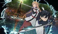 368 Sword Art Online Movie PLAYMAT CUSTOM PLAY MAT ANIME PLAYMAT FREE SHIPPING