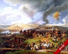 BATTLE OF BORODINO PAINTING NAPOLEON VICTORY OVER  RUSSIA ART REAL CANVAS PRINT