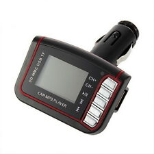 LCD Car MP3 Player Wireless FM Transmitter USB TF Card + Remote Control LC