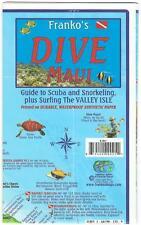 Maui Hawaii Dive & Snorkeling Guide Map Waterproof by Franko Maps