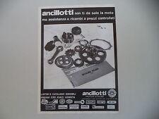 advertising Pubblicità 1978 MOTO ANCILLOTTI