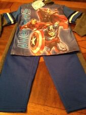 NEW Marvel Avengers Assemble Pajamas Size 6 Young Boys. MSRP$29.99++++