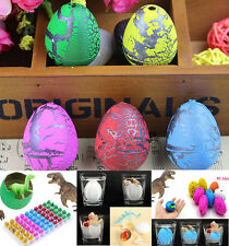 6pcs Child Magic Growing Dino Eggs Hatching Dinosaur Add Water Inflatable Toys