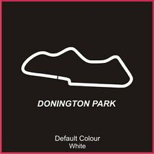Donington Park Circuit Decal, Track, Vinyl, Sticker, Graphics, Car, N2002