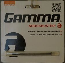 NEW GAMMA Shockbuster Vibration Dampener Tennis Black Dampner