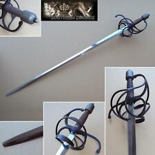 16th & 17th Century Traditional English Rapier Sword. Ready for Stage & Combat