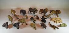 Lineol Masse Figuren Afrika und Farm Tierkonvolut Diverse Tiere 20 Stück #078