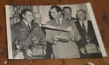 Howard C Scrappy Johnson F-104 Starfighter  test pilot signed autographed photo
