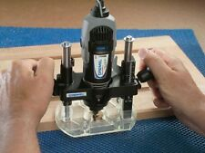 Plunge Router Attachment Base Dremel Plunge Router Clean Cut Rabbet Rotary tools