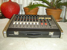 Panasonic Ramsa WR-133, 8 Channel Mixer, Quality Preamps & Equalizer, Vintage