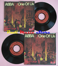 LP 45 7'' ABBA One of us Should i laugh or cry 1981 germany POLYDOR cd mc dvd