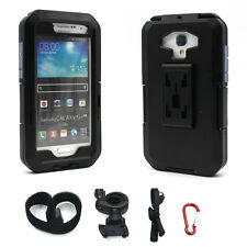 IPX8 Waterproof Case Motorcycle Bike Handlebar Mount for Samsung Galaxy S3 S4