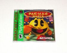 Pac-Man World 20th Anniversary Playstation 1 Game PS1 1999 Complete Greatest