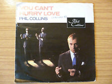 "Phil Collins - You Can't Hurry Love - 7"" single"