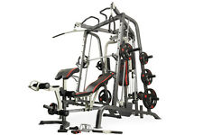 SMITH MACHINE Professional HOME GYM MAXAM SMX-700 + 125KG Olympic Weights Set