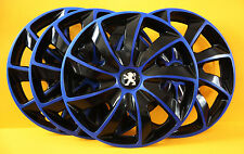 "PEUGEOT ,407,307,308...etc. ,16"" WHEEL TRIMS/COVERS,HUB CAPS,Quantity 4,"