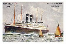 rp2681 - Red Star Liner - Lapland , built 1914 - photo 6x4