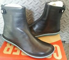 NEW Camper Womens Beetle Leather Ankle Boots Size 37/7 Muller Negro Lara