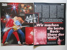 Styx Tommy Shaw Dennis De Young Jungle Book Baccara Cooper clippings Germany