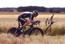 Michael Rogers - Autographed - Signed 8X12 inches TDF SKY TEAM Photo