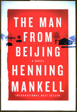 The Man from Beijing by Henning Mankell-First American Edition/DJ-2010