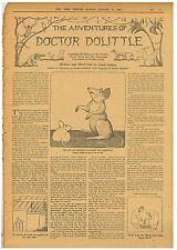 The adventures of Doctor Dolittle  By Hugh Lofting Collection of Magazines 1923