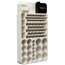 Battery Storage Organizer Rack Holder 82-Slots For D/C/AA/AAA w/Removable Tester
