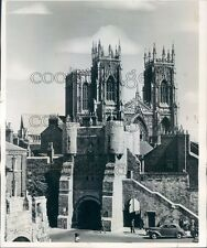 1960 York Minster Cathedral North Yorkshire England Press Photo