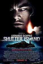SHUTTER ISLAND ORIGINAL 27x40 MOVIE POSTER (2010) DICAPRIO & RUFFALO